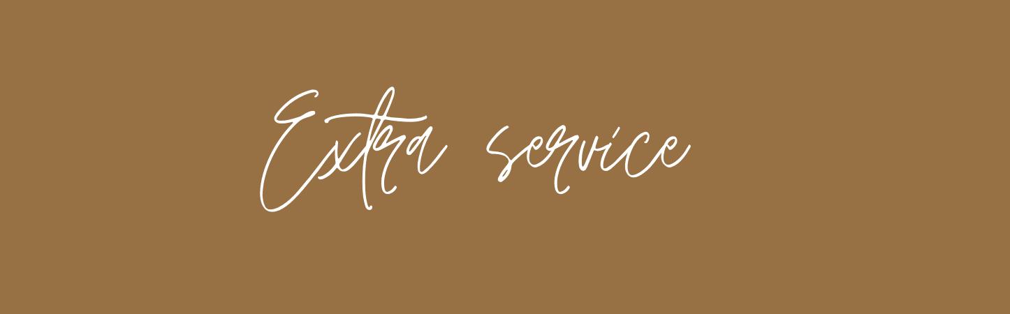 extra service website